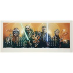 Drew Struzan signed Star Wars: Episode I - Phantom Menace Giclée