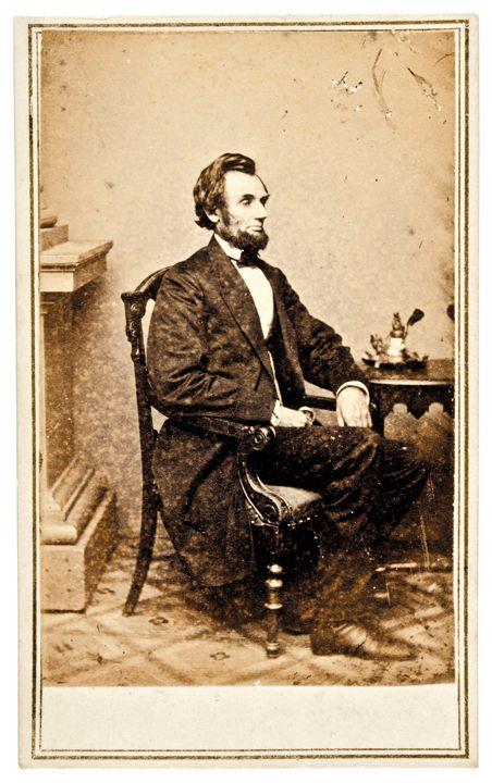 Image 1 Abraham Lincoln Original Carte De Visite Photograph By Mathew Brady