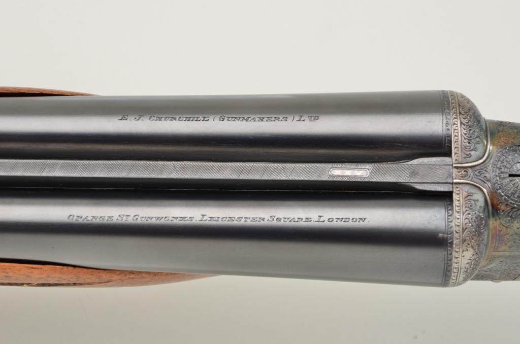 E J  Churchill utility XXV easy opening model 12 gauge