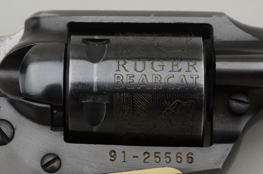 Ruger Bearcat  22 caliber single-action revolver in near fine original  condition serial number 91