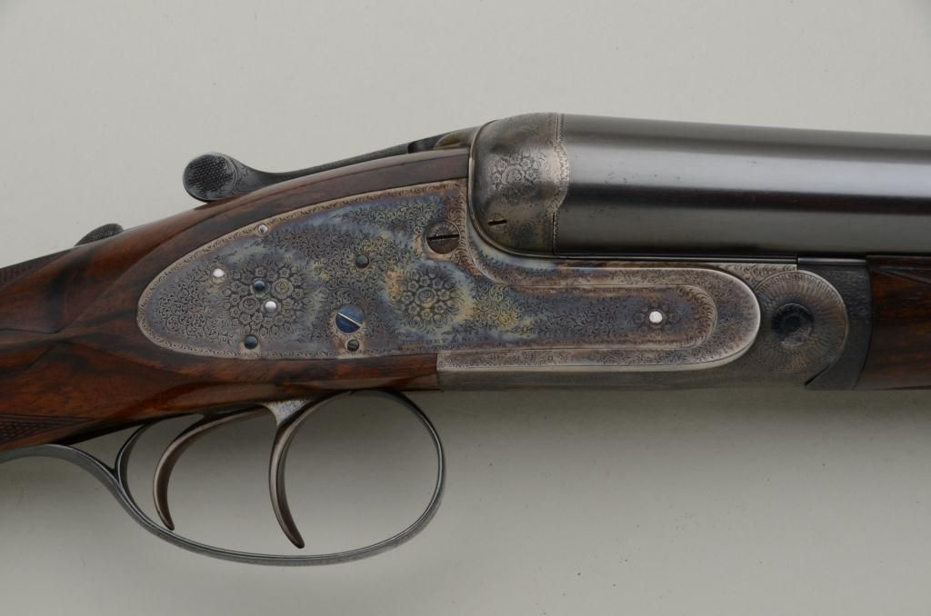James Purdey and Sons Best Quality self-opening side-lock ejector, double  barrel shotgun with orig