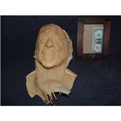 ROTTEN RONALD REAGAN ROTTING ZOMBIE PRESIDENT FULL HEAD LATEX MASK 2 UNTRIMMED NO RESERVE!