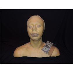 LIFE CAST FULL BUST IN POLY FOAM FOR MASK HAT APPLIANCE DISPLAY