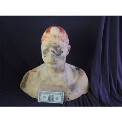 FULL FOAM RUBBER DISPLAY BUST FOR MASKS HATS WIGS APPLIANCES 1001 USES!