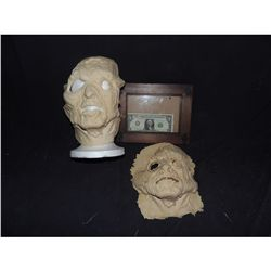 RETURN OF THE LIVING DEAD ROTTEN ZOMBIE FACE APPLIANCES LOT OF 2