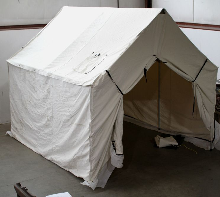 Cabelas Montana Canvas Wall Tent and Frame 10'x12'