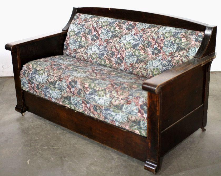 Strange Antique Kroehler Sofa Bed Creativecarmelina Interior Chair Design Creativecarmelinacom