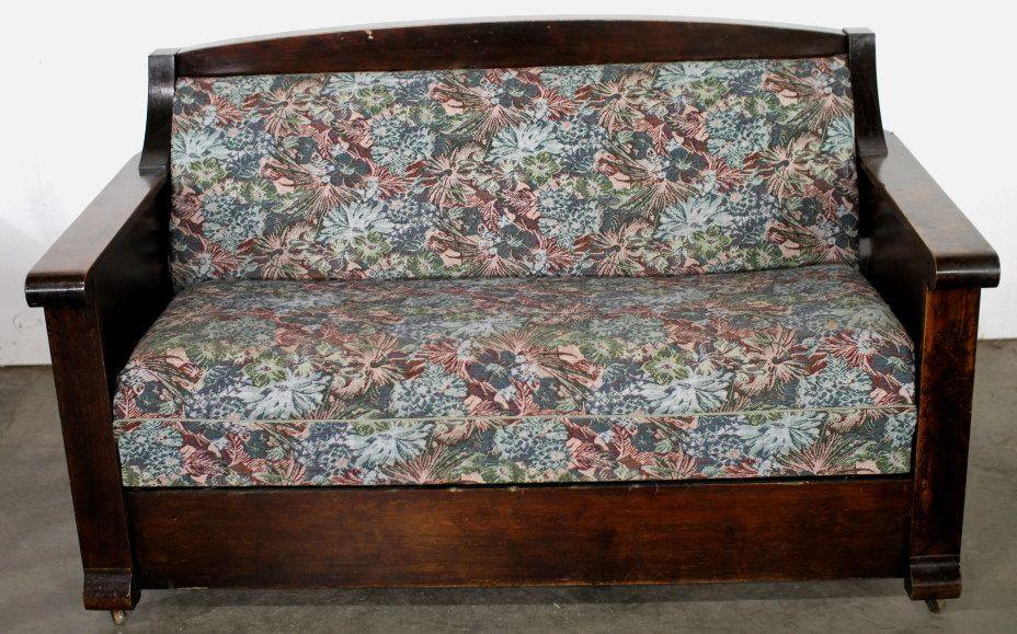 Enjoyable Antique Kroehler Sofa Bed Creativecarmelina Interior Chair Design Creativecarmelinacom