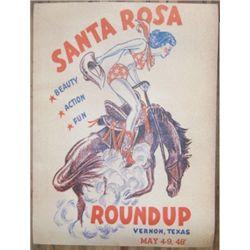 Santa Rosa Roundup 1948 poster