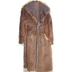 full length horse hide coat