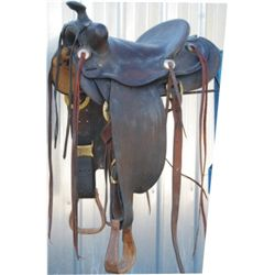 JC Higgins 1930-40's saddle