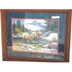 Jack Sorenson framed print