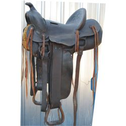 Miles City Cogshell loop seat saddle