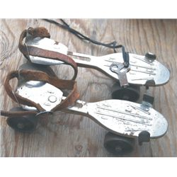 Winchester roller skates with key