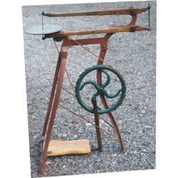 antique foot power jig saw