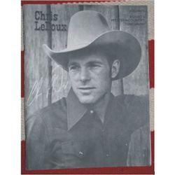 Chris LeDoux song book, Volume 1