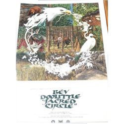 signed and numbered Bev Doolittle print