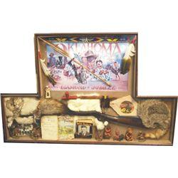 Oklahoma Diamond Jubilee shadow box