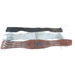 3 bronc belts
