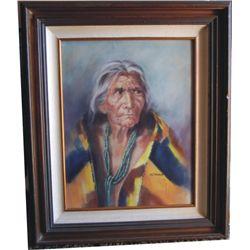 oil painting by M J Kenagy