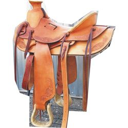 unridden loop seat saddle, from Hansen estate