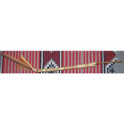 finely braided rawhide multi color quirt