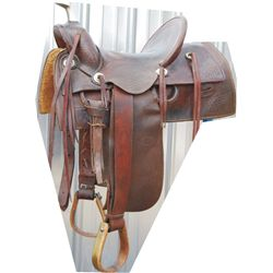 RT Frazier high back saddle