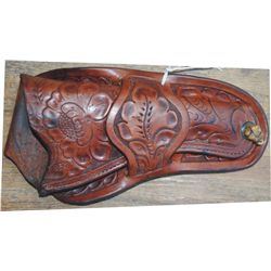 Kuck and Bonney tooled holster