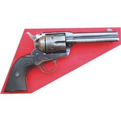"""Colt SA .32-20 with 4 3/4"""" barrel, good bore"""
