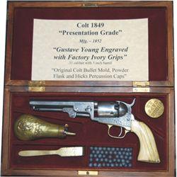 presentation grade Colt pocket 1849 .31
