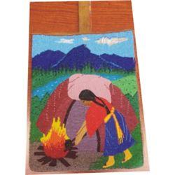 very nice early Nez Perce beaded bag