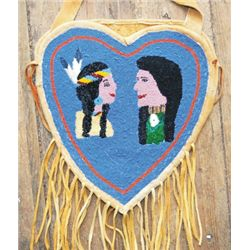 Yakima beaded wedding bag
