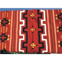 76 X 47 Indian blanket