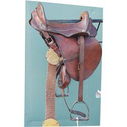 US McClellan saddle, WW1 officer's saddle