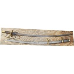 US army sabre and scabbard