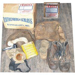 WW1military box - belonged Lt. Krammer