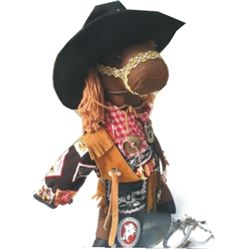 cute large cowboy doll