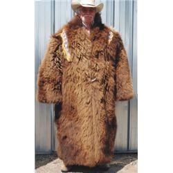 buffalo hide coat, very nice condition