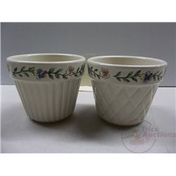 Longaberger Flower Pots