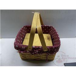 Longaberger Cake Basket 1996