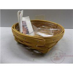 Longaberger 3-Way Catch All Basket 2001