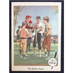1959 Fleer Ted Williams.  The Early Years.  NM
