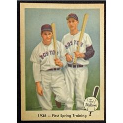 1959 Fleer Ted Williams.  First Spring Training.  NM