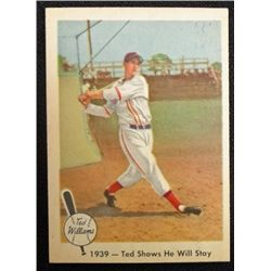 1959 Fleer Ted Williams.  Ted Shows He Will Stay.  NM