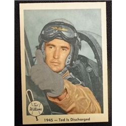 1959 FLEER TED WILLIAMS.  TED IS DISCHARGED.  NM
