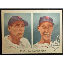 1959 FLEER TED WILLIAMS.  SOX MISS OUT AGAIN.  NM-MT