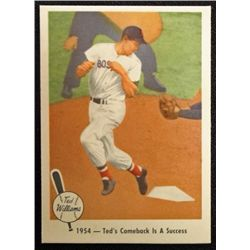 1959 FLEER TED WILLIAMS.  TED'S COMEBACK IS A SUCCESS.  NM-MT