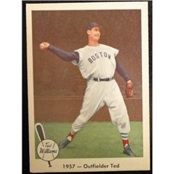 1959 FLEER TED WILLIAMS.  OUTFIELDER TED.  NM