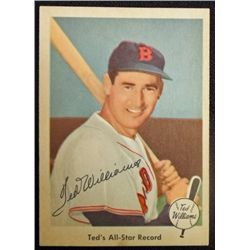 1959 FLEER TED WILLIAMS.  ALL-STAR RECORD.  NM-MT