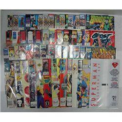 50 - SUPER HERO COMIC BOOKS SUPERMAN, BRIGADE, GHOST RIDER